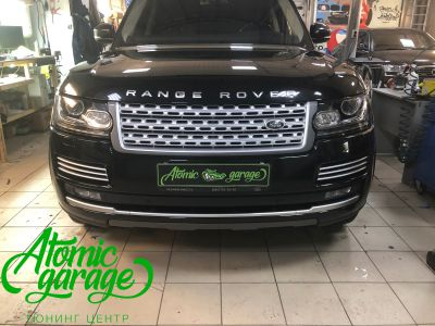 Range Rover 4 L405, замена линз на Bi-Led Optima Pro - фото 1
