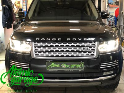 Range Rover 4 L405, замена линз на Bi-Led Optima Pro - фото 9
