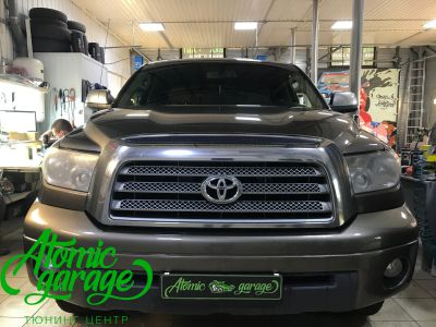 Toyota Tundra GEN2, замена линз на Bi-led Optima Adaptive - фото 1