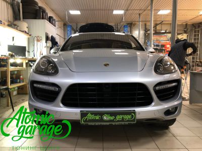Porsche Cayenne 958, замена линз на Hella 3R + линзы Bi-led Optima Adaptive - фото 13