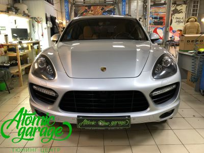 Porsche Cayenne 958, замена линз на Hella 3R + линзы Bi-led Optima Adaptive - фото 1