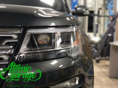 Ford Explorer 5 рестайлинг, линзы Bi-Led Optima Adaptive + Probright Base - фото 9