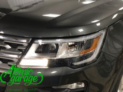 Ford Explorer 5 рестайлинг, линзы Bi-Led Optima Adaptive + Probright Base - фото 13