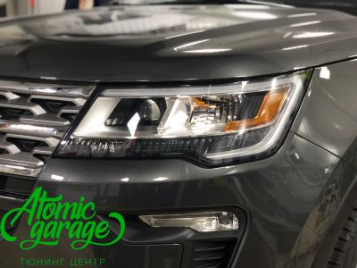Ford Explorer 5 рестайлинг, линзы Bi-Led Optima Adaptive + Probright Base - фото 10