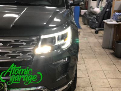 Ford Explorer 5 рестайлинг, линзы Bi-Led Optima Adaptive + Probright Base - фото 15