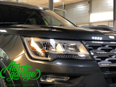 Ford Explorer 5 рестайлинг, линзы Bi-Led Optima Adaptive + Probright Base - фото 3