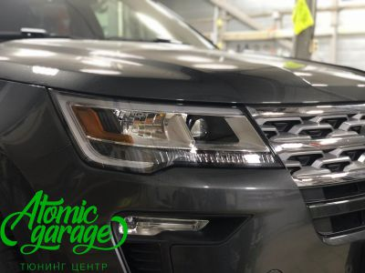 Ford Explorer 5 рестайлинг, линзы Bi-Led Optima Adaptive + Probright Base - фото 11