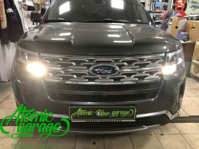 Ford Explorer 5 рестайлинг, линзы Bi-Led Optima Adaptive + Probright Base - фото 12