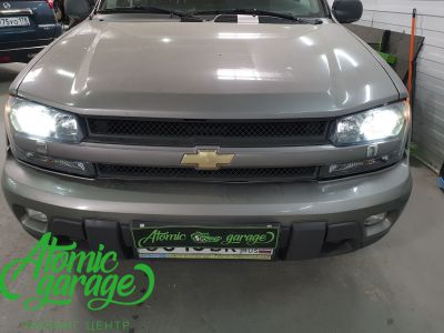 Chevrolet Trailblazer GMT360, установка линз Bi-led Optima Pro - фото 14