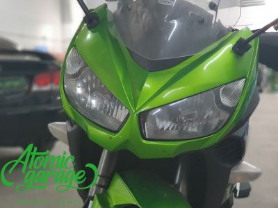 Мотоцикл Kawasaki Ninja z1000sx, установка линз Bi-Led Optima Adaptive - фото 2
