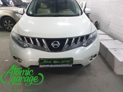 Nissan Murano Z51, замена линз на Bi-led Optima Pro - фото 1