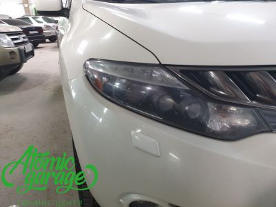 Nissan Murano Z51, замена линз на Bi-led Optima Pro - фото 3