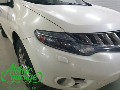 Nissan Murano Z51, замена линз на Bi-led Optima Pro - фото 13