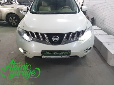Nissan Murano Z51, замена линз на Bi-led Optima Pro - фото 2