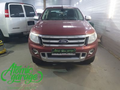 Ford Ranger, установка линз Bi-led Optima Intelligent - фото 1
