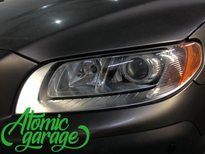 Volvo XC70, установка линз Bi-led Optima Pro - фото 8
