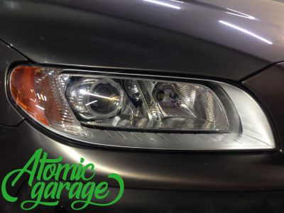 Volvo XC70, установка линз Bi-led Optima Pro - фото 7