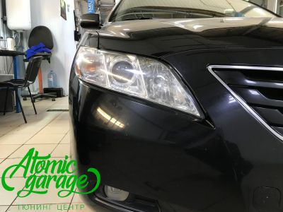 Toyota camry v40, замена линз Bi-led Optima Pro + Probright - фото 2