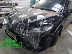 Toyota Camry v70, оклейка защитной антигравийной пленкой