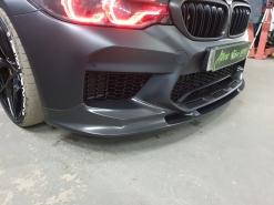 BMW M5 F90 Stingray, установка аэродинамического обвеса 3DDesign