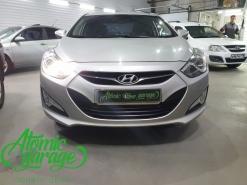 Hyundai I40, замена платы управления штатного ходового огня