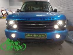 Range Rover «Понторезка» восстановление оптики