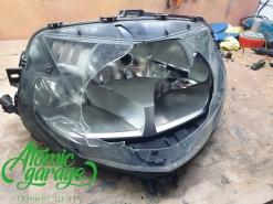 Мотоцикл BMW K1300S изготовление стекла фары