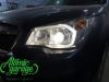 Subaru Forester SJ, установка биксеноновых линз Hella 3R