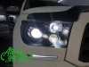 Toyota Sequoia, установка 4-х линз Bi-led