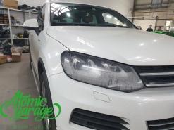 Volkswagen Touareg NF, замена стекол фар на новые