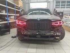 BMW X7, эксклюзивный тюнинг фар