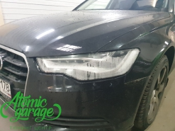 Audi A6 C7 Led дорестайлинг, замена стекол фар