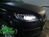 Audi Q7 рестайлинг, замена линз на Bi-led Diliht Triled + новые стекла