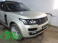 Range Rover Vogue, замена линз на Diliht Triled + восстановление стекол