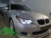 BMW 5 E61, замена линз на Bi-led Diliht Tendel + новые стекла + новые кольца