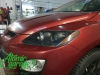 Mazda CX-7, замена штатных линз на Bi-led Diliht Triled + покраска масок фар