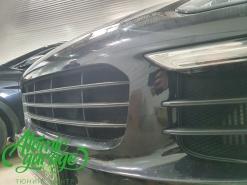 Porsche cayenne 958, защитная сетка радиатора