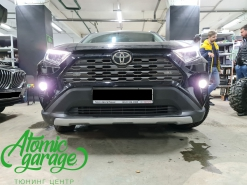 Toyota RAV4 (XA50), замена штатных на светодиодные Osnova