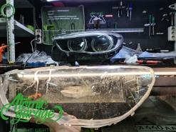BMW 5 GT F07 Led, замена стекол фар