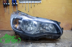 Subaru XV, замена правого стекла фары + ремонт корпуса