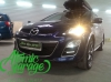 Mazda CX-7, замена штатных линз на Hella 3R