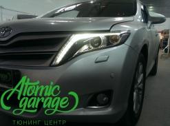 Toyota Venza, восстановление прозрачности фар