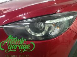 Mazda CX-5, ремонт штатного дхо левой фары