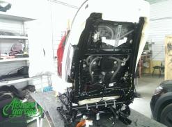 BMW X6 F16, установка вентиляции сидений