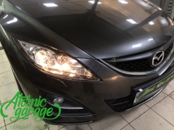 Mazda 6 GH, замена линз на бигалоген Hella R