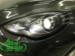 Porsche Panamera, замена ксенонового освещения на светодиодное