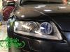 Audi A6 C6, замена штатных линз на Hella 3R + новые стекла