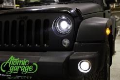 Jeep Wrangler JK, комплекс работ по улучшению света