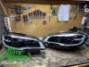 BMW X6 E71 Led, замена стекол фар + покраска масок