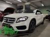 Mercedes GLA, замена линз на Bi-led Diliht Triled + восстановление стекол